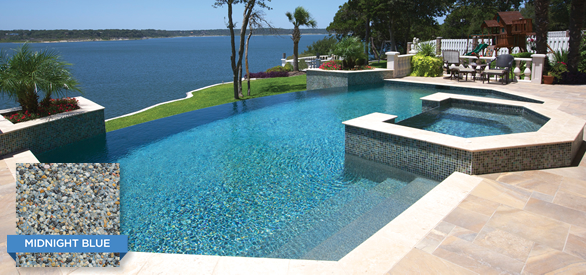 Pebble finishes cl industries for Pebble finishes for swimming pools